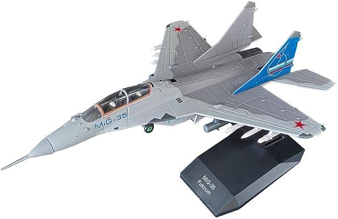 Escala 1/100 Militar Mig-35 De Combate Polivalente De Rusia Aleación  Modelo, Juguetes Adultos Y Objetos De Colección, 4,7 Pulg X 7,1 Pulg:  Amazon.es: Deportes y aire libre