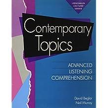 Amazon david beglar books contemporary topics advanced listening comprehension longman lecture series fandeluxe Gallery
