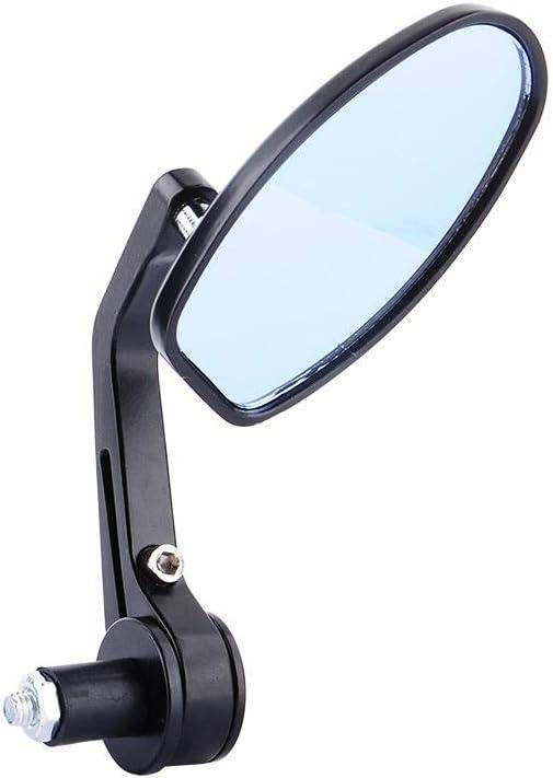 1 Paire R/étroviseur Moto Embout de Guidon de Universel 360 Degree Swivel Noir 7//8