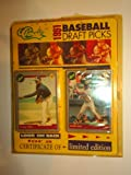 Classic 1991 Baseball Draft Picks - Certificate of Limited Edition