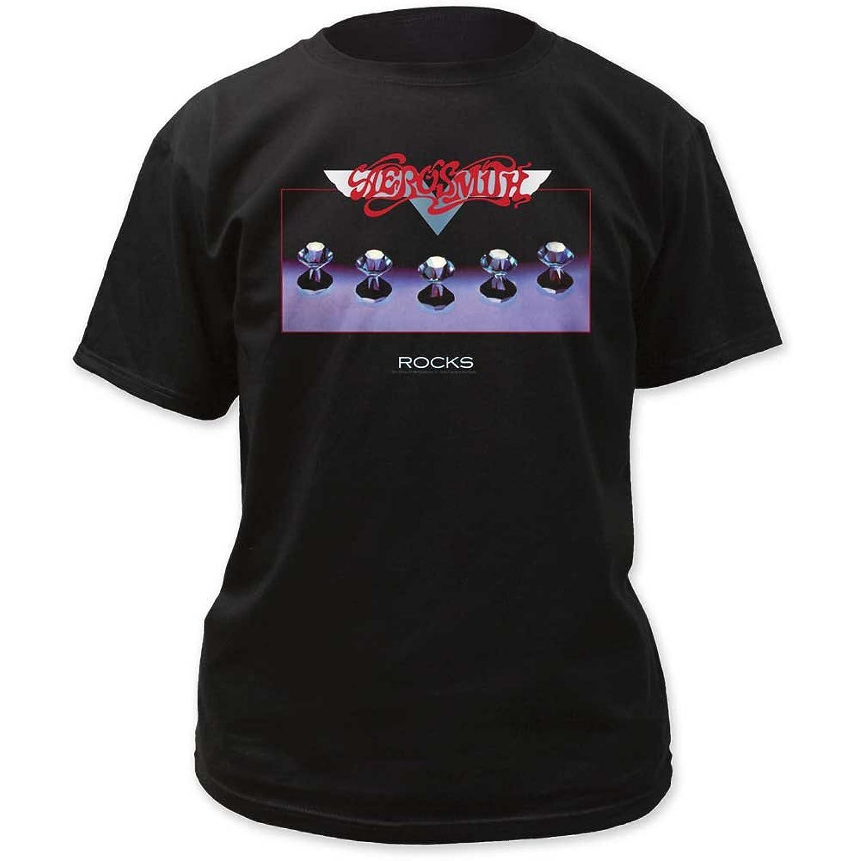 Aerosmith - Mens Rocks Adult T-Shirt