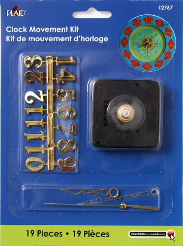 (Plaid Enterprises, Inc. 12767E Kit Clock)