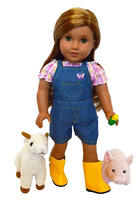 """Doll Not Incl MY LIFE AS 18/"""" DOLL/'S 3 PACK OUTFIT Doll CLOTHING SET Cowgirl New"""