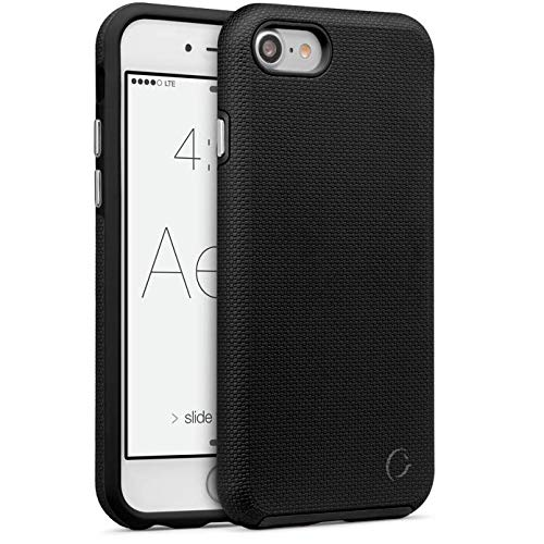 Cellairis - Aero Grip Cell Phone Case for Apple iPhone 7, for iPhone 8 (Midnight) from Cellairis