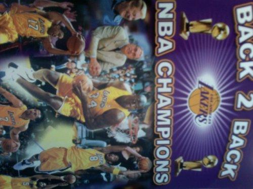 Los Angeles Lakers 2001 - 02 Media Guide (Back 2 Back NBA Champions)
