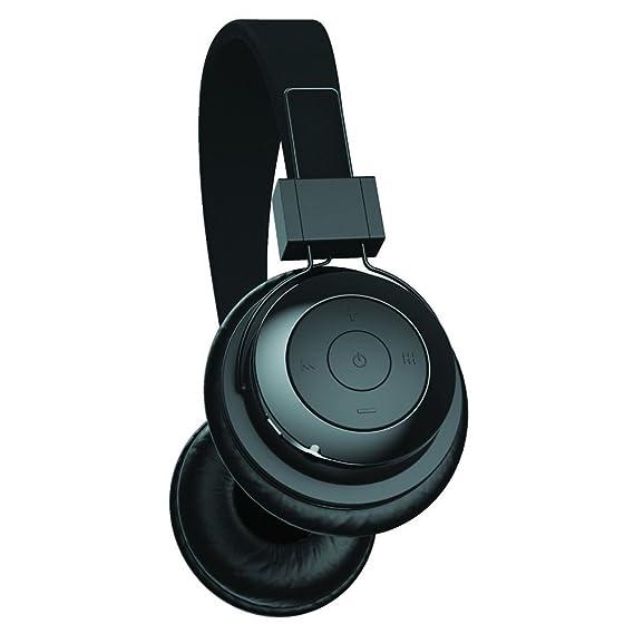 Tzumi - Bluetooth - estéreo plegable batería inalámbrico auriculares de diadema con graves potentes - Construido en micrófono de alta definición y control ...