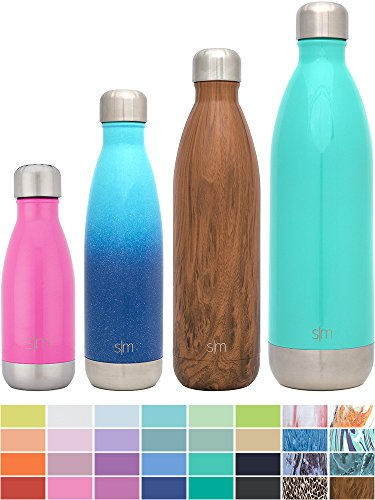 Simple Modern Stainless Steel Vacuum Insulated Double-Walled Wave Bottle, 9oz - Bubble Gum Pink