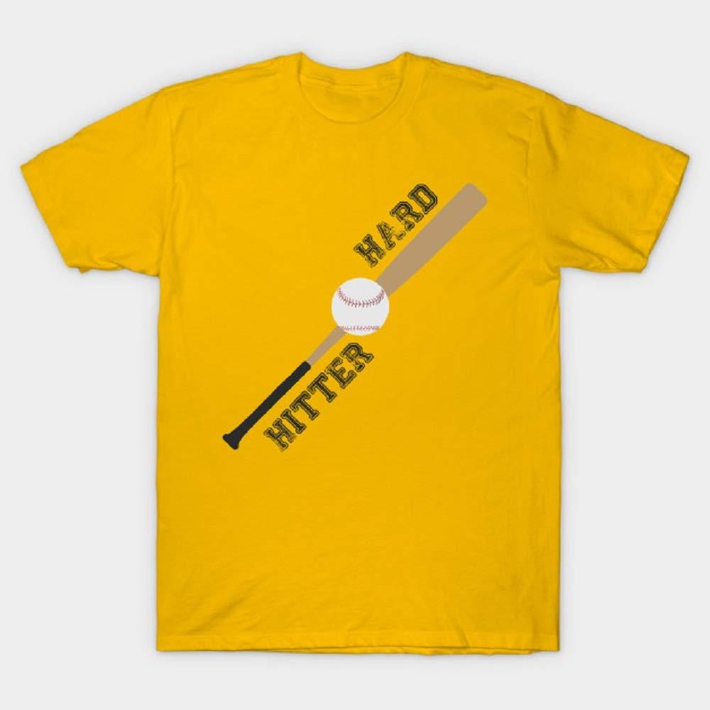 Hitter Hard T Shirt For Funny Print Short Sleeve Tees Tops