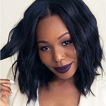 court Afro Cheveux bouclés Perruques pour