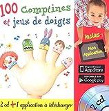 """Afficher """"100 comptines et jeux de doigts"""""""