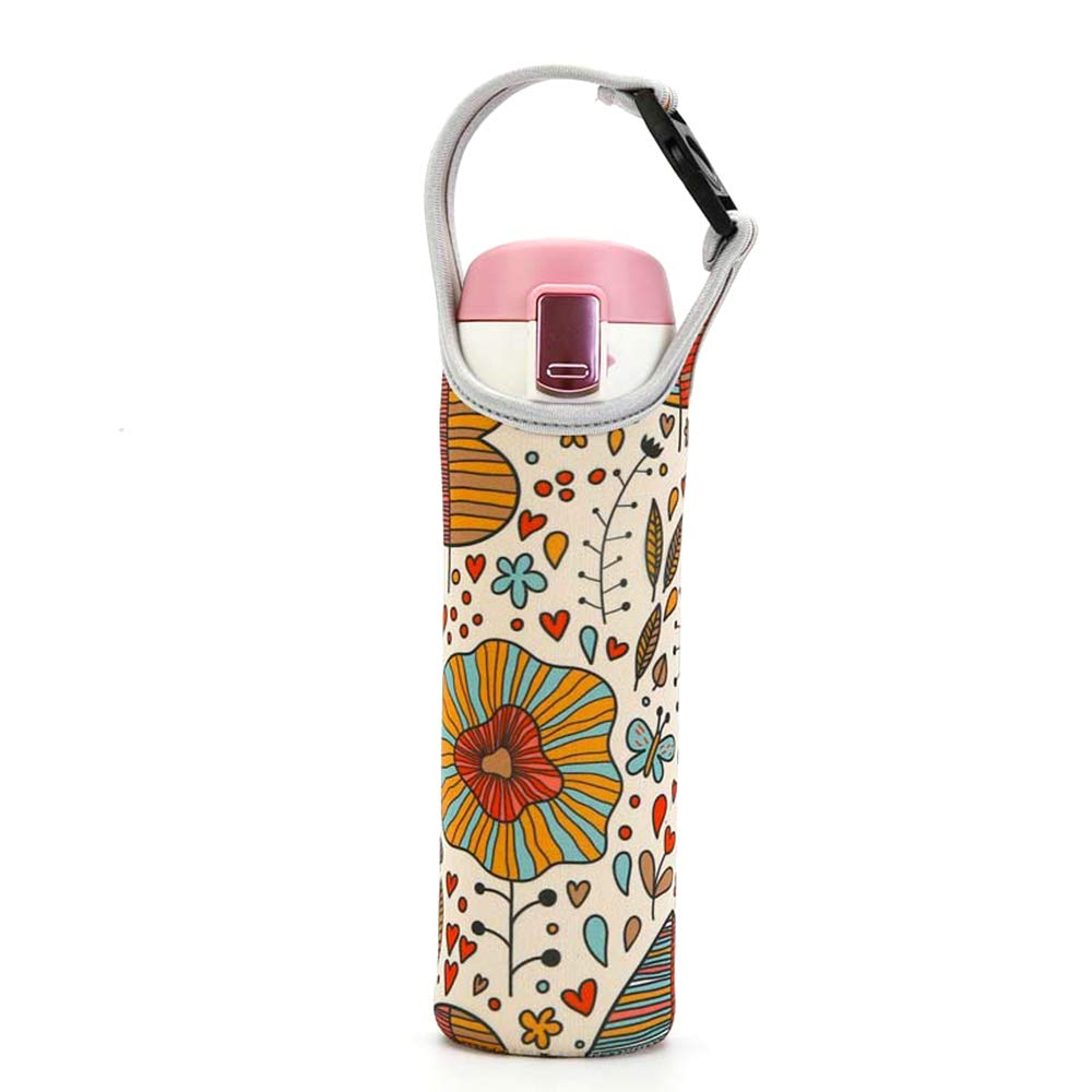contenedor para Taza Bolsa de Transporte t/érmica para Botellas para Viajes Bebidas fr/ías al Aire Libre Soporte para Taza con Aislamiento BEARCOLO fr/ío