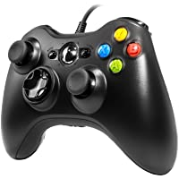 Wired Controller for Xbox 360, ACHAS 2.4GHZ Wired Controller Joystick Gamepad Remote for Xbox360 PC Windows 7,8,10…