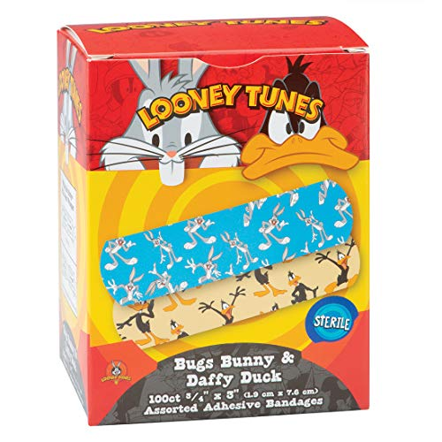 Looney Tunes Bandages - 100 per Pack