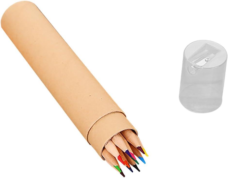 Hacoly Lápices de Colores en Enrollable Lápices de Dibujo para esbozos Caja con lápices de colores de colores de madera mini lápices de pintura con sacapuntas para estudiantes artículos de papelería: Amazon.es: