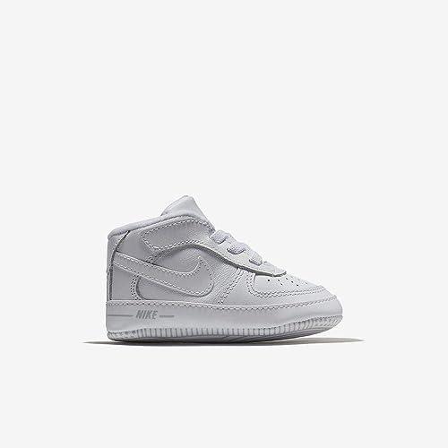 Nike Unisex Baby Force 1 (Cb) Hausschuhe, weiß
