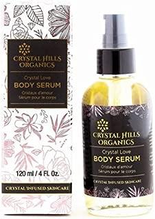 product image for Crystal Hills Organics Body Serum Crystal Love Rose Quartz