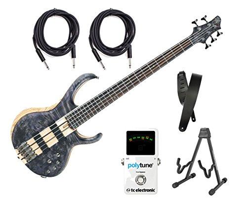 (Ibanez BTB845 5-String Electric Bass -  Deep Twilight Low Gloss)