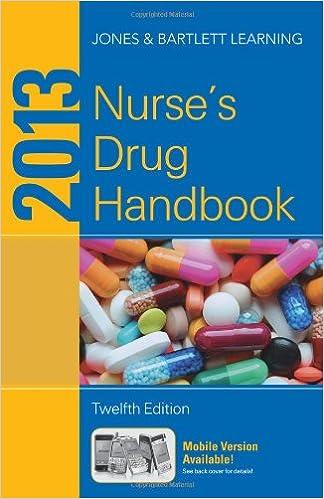 Book 2013 Nurse's Drug Handbook