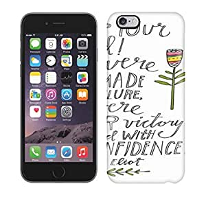 Waterdrop Snap-on You Were Not Made For Failure Case For Iphone 6 Plus