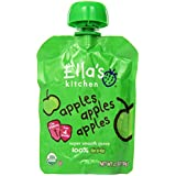 Ella's Kitchen Organic 4+ Months Baby Food, Apples Apples Apples, 2.5 oz. Pouch (Pack of 6)