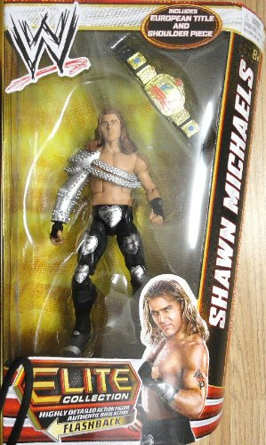 WWE Elite Series 19 Shawn Michaels Action Figure -