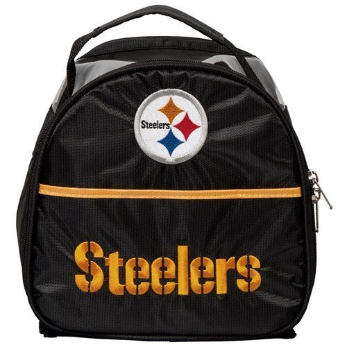 KR Strikeforce Pittsburgh Steelers Single Add On Bowling Bag, Multicolor