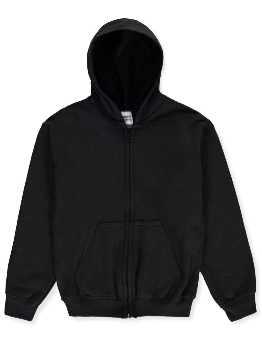 Gildan Basic Fleece Zip-Up Unisex Hoodie