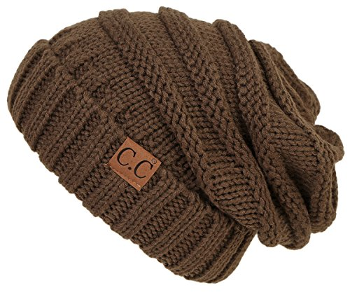 Beanie Olive Womens - H-6100-3333 Funky Junque Oversized Slouchy Beanie - Olive