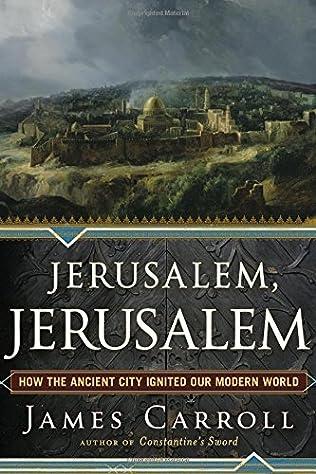 book cover of Jerusalem, Jerusalem