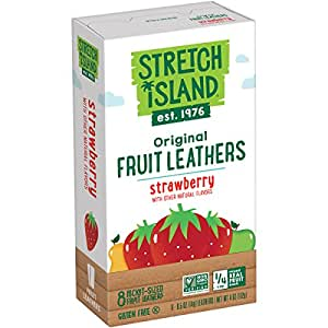 Stretch Island All Natural Fruit Strips, Strawberry, 8 Count