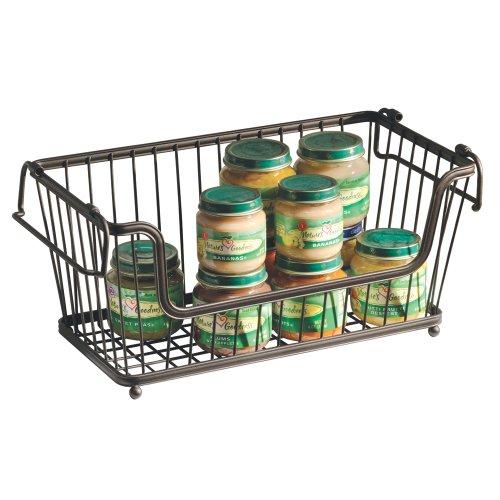InterDesign Kitchen Pantry Basket 12 Inch