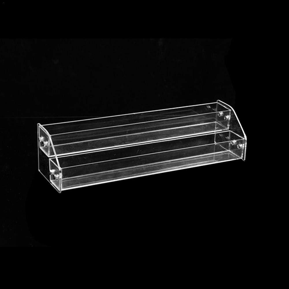 Bitcircuit Acryl Display Riser Step Stand,Mehrschicht-Nagellack-Organizer Multifunktionaler Ausstellungsstand F/ür Hinterlegtes /Öl,Make-up,Collectibles Spielzeug,Rock Collection Tiered Spice Rack