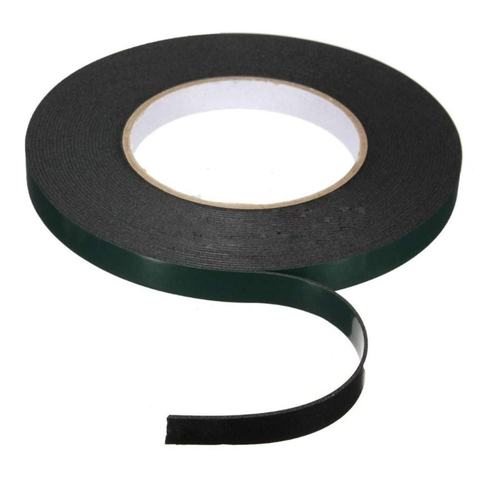 Office & School Supplies 1pc Newest Multifunction Black Sponge Foam Double Sided Adhesive Tape Hot Selling 5 Different Sizes Attractive Fashion