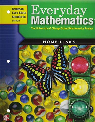 Everyday Mathematics, Grade K, Home Links