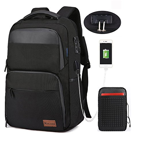 Waterproof Oxford Laptop Backpack for Men - 5