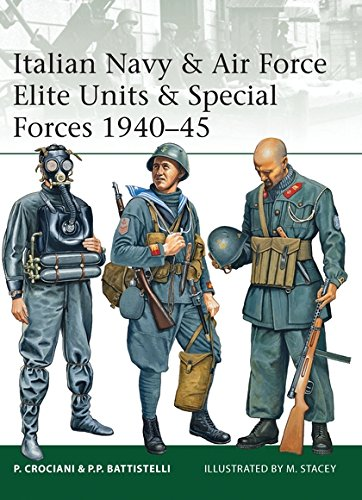 Italian Navy & Air Force Elite Units & Special Forces 1940–45