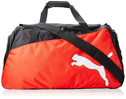 PUMA Sporttasche Pro Training Medium Bag, black/puma red/white, 61 x 29 x 31 cm, 54 liter, 072938 02