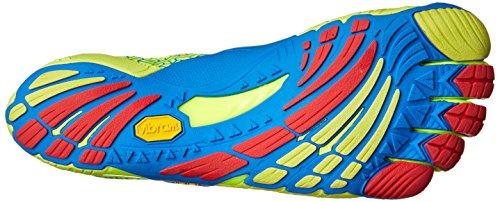 Vibram Fivefingers Uomo Kmd Evo Scarpe Da Interno Multicolore (giallo / Blu / Rosso)