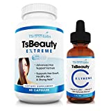 Hair Skin Lash Nails Supplement & Vitamin C Serum System For Longer Hair Growth, Radiant Skin, Thicker Nails. 22 Potent Vitamins , Vitamin B5 Pantothenic Acid, Folic acid, Biotin.