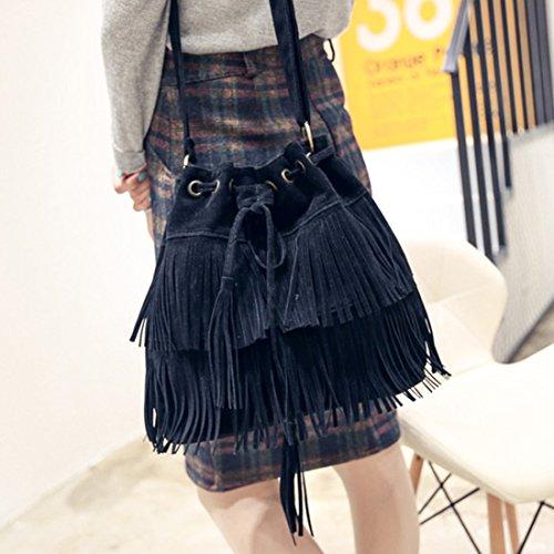 Shayin - Casual donna Black