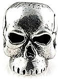 Schmuckatelli Co SMUKCP-BRK Classic Skull Bead Pewter For Sale