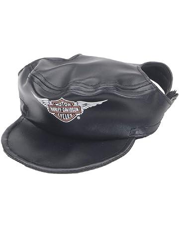 dcc1d801588 Harley-Davidson Winged Bar   Shield Dog Cap Black Vinyl