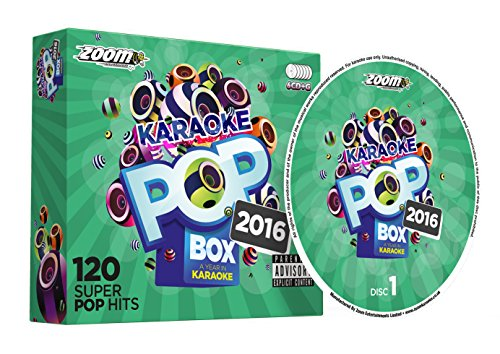 (Zoom Karaoke Pop Box 2016: A Year In Karaoke - Party Pack - 6 CD+G Box Set - 120 Songs)
