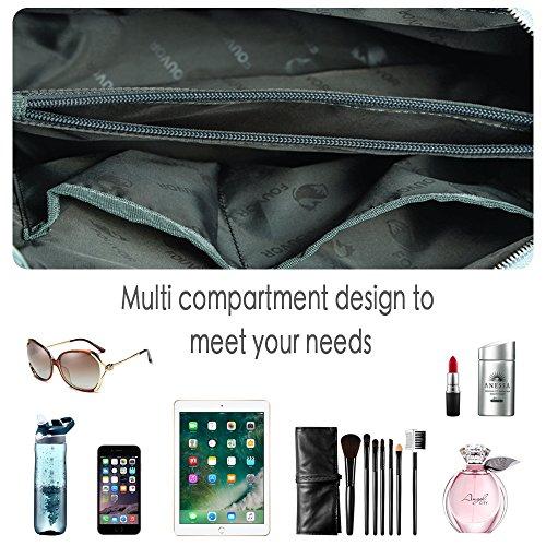 Messenger Waterproof Crossbody Bags bags Shoulder handbags Lightweight Nylon Grey tote xBwTpwXqY