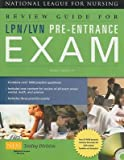 Review Guide for LPN/LVN Pre-Entrance Exam [With CDROM][REVIEW GD FOR LPN LVN-3E W/CD][Paperback]