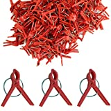 Amgate 100 PCS Plants Plastic Grafting Clips for Bushes & Vegatables