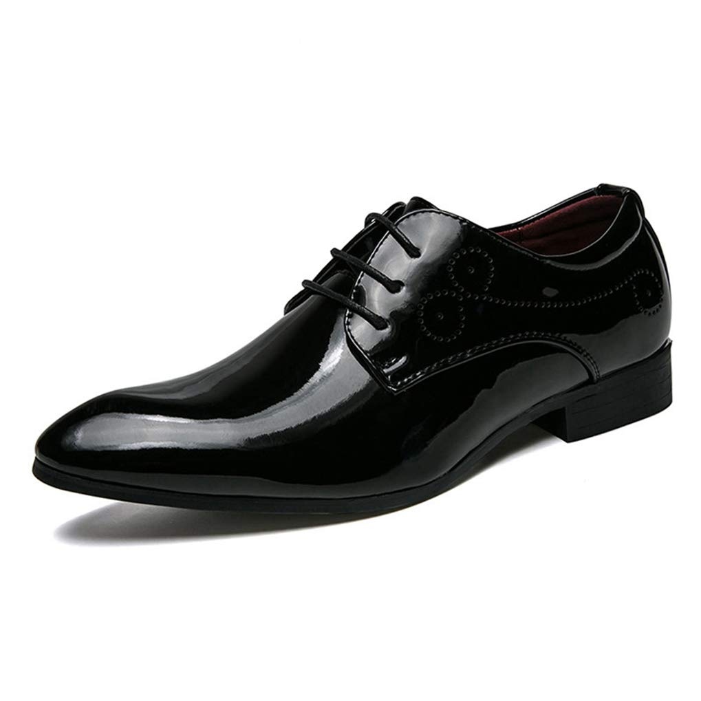 Starttwin Men Formal Shoes Breathable Anti-Slip Work Business Office Dress Oxford Shoes