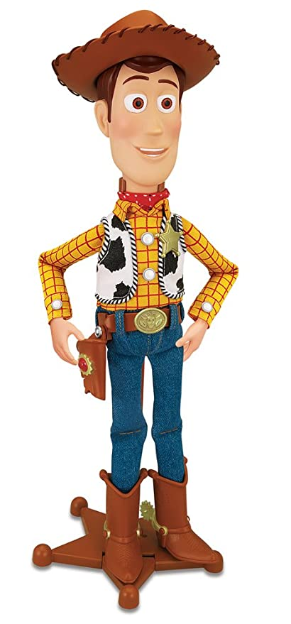 Amazon.com  Toy Story Collection Talking Sheriff Woody  Toys   Games bfddf3ccb5e
