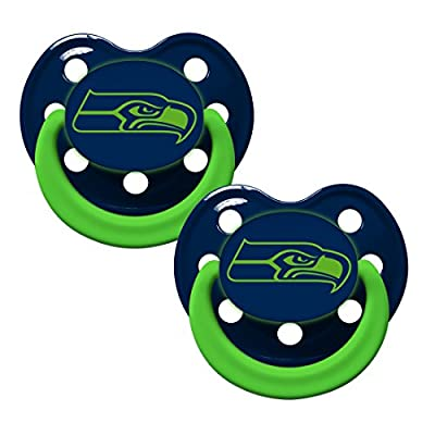 NFL Officially Licensed Glow In The Dark Orthodontic Pacifier