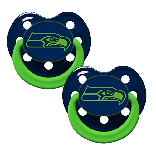 NFL Football Team Logo Baby Infant Glow In The Dark Pacifier